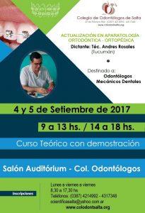 Curso Actualización en Aparatología Ortodóntica - Ortopédica
