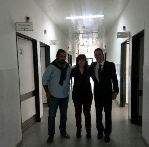 Visita al hospital de Cafayate