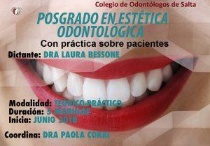 Curso de Postgrado en Estética Odontológica - Dra. Laura Bessone & Equipo