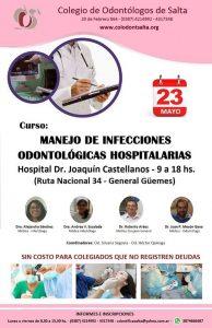 Curso Manejo de Infecciones Odontológicas Hospitalarias: General Güemes