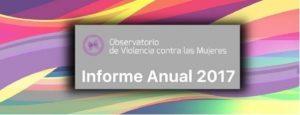 Informes 2017: Observatorio de violencia contra las mujeres