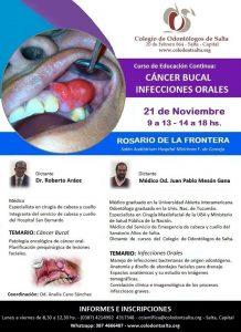 Curso Cáncer Bucal e Infecciones Orales - Rosario de la Frontera