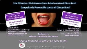 8º Campaña provincial de lucha contra el cáncer bucal