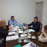 Reunión con el coordinador de la secretaría de deportes