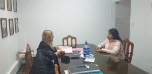 Reunión con la Secretaría de Desarrollo Social Municipal