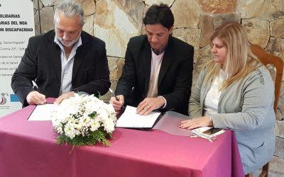 Firma de convenio con la Secretaría de Deportes de la Provincia