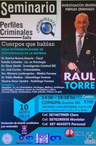 Seminario Perfiles Criminales