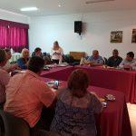 Reunión del Consejo Nacional de Peritos Forenses de nuestro colegio