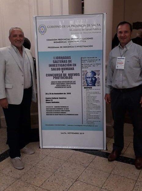 1º Jornadas salteñas de Investigación en Salud Humana y Concurso de nuevos protocolos