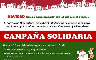 Campaña solidaria de Navidad