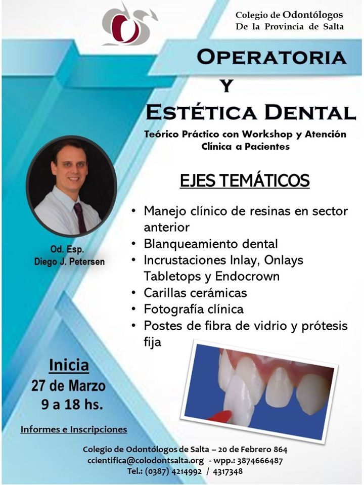 Curso: Operatoria y Estética Dental - Capital