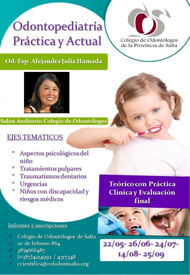 Curso: Odontopediatría Práctica y Actual - Capital