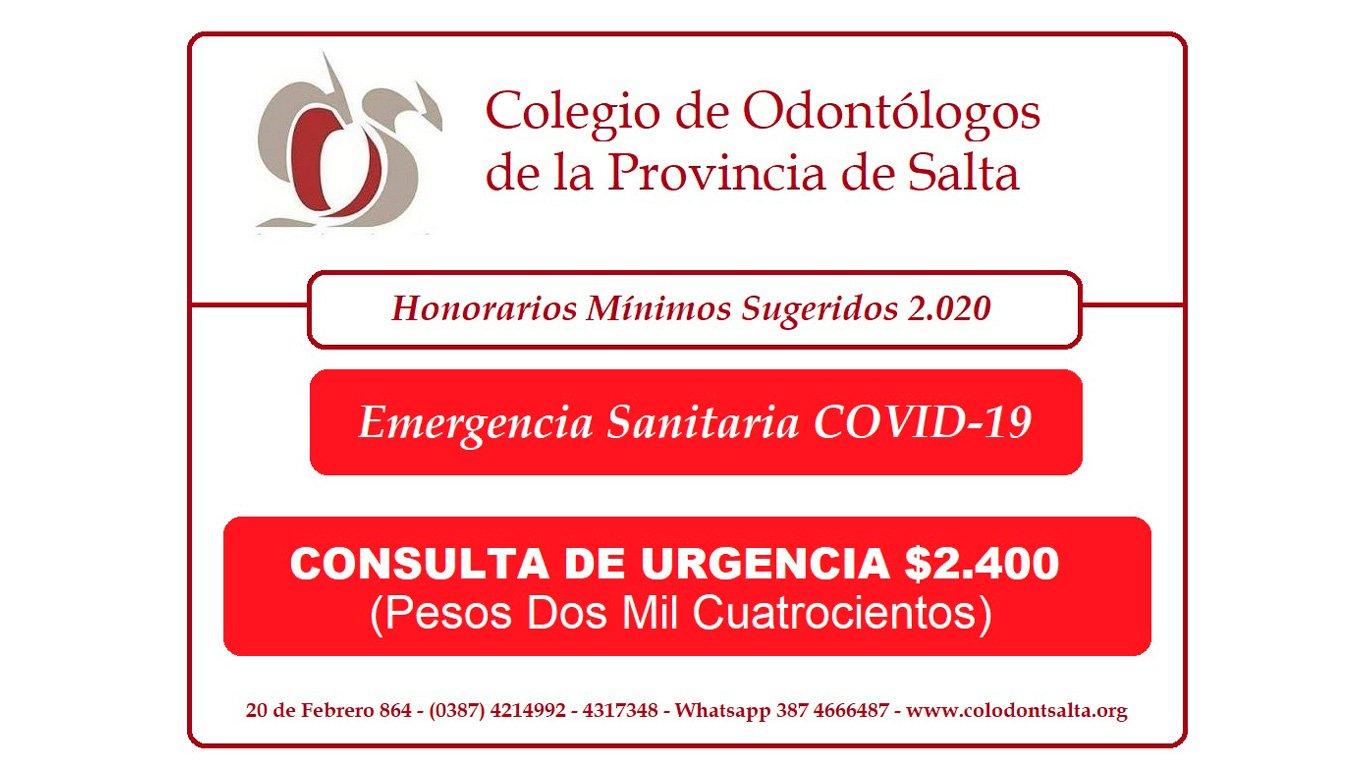 Consulta Urgencias - COVID-19