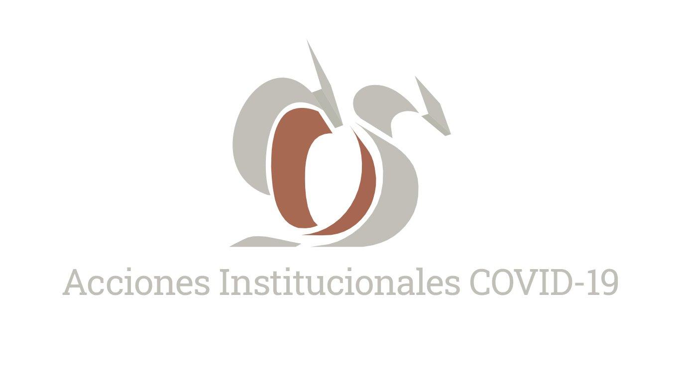 Acciones Institucionales COVID-19