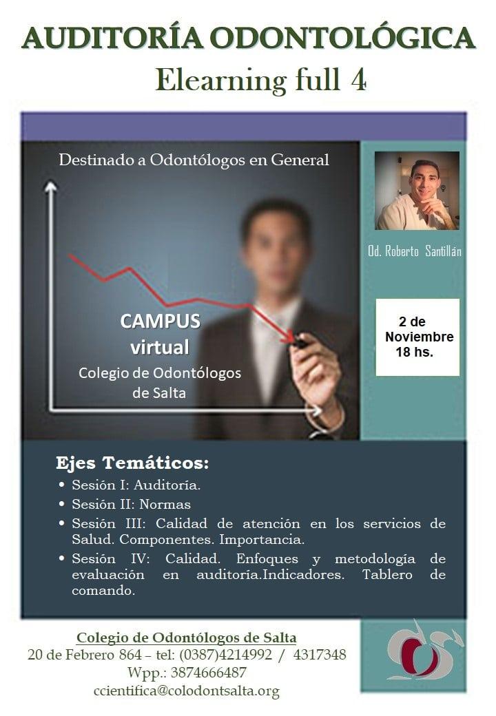 Auditoría Odontológica E-learning Full 4
