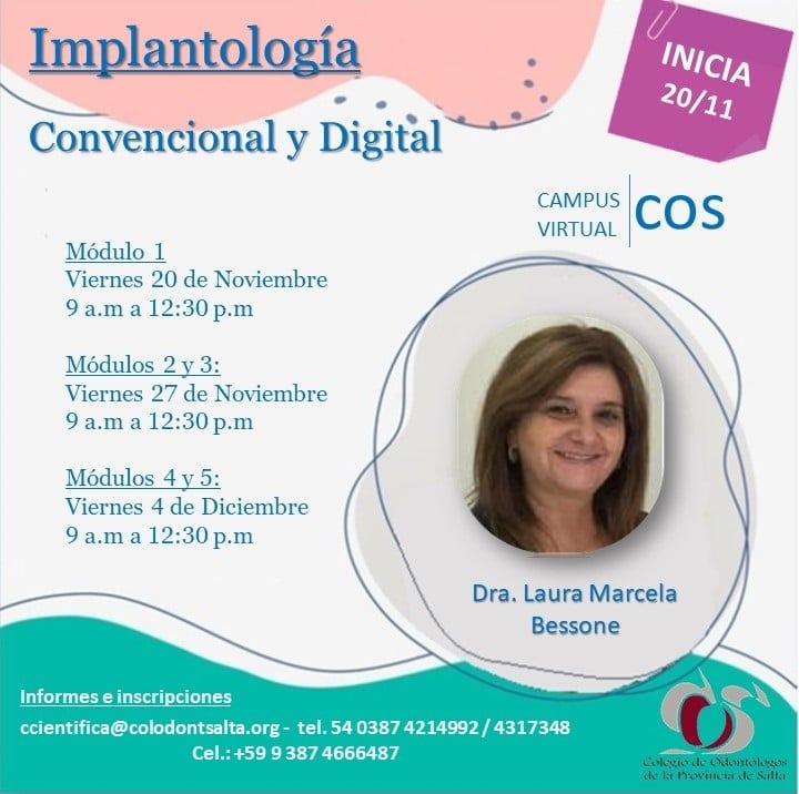 Implantología Convencional y Digital