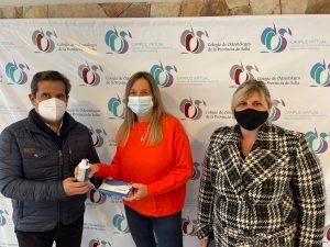 Donación a la fundación de la hemofilia