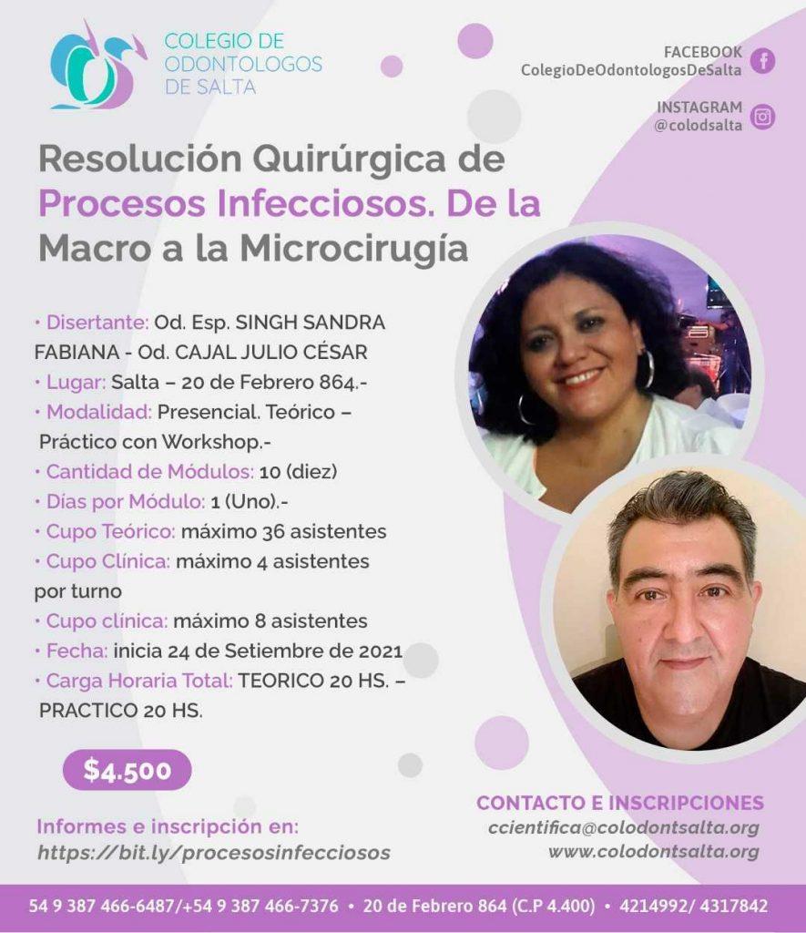Resolución Quirúrgica de Procesos Infecciosos: De la macro a la microcirugía