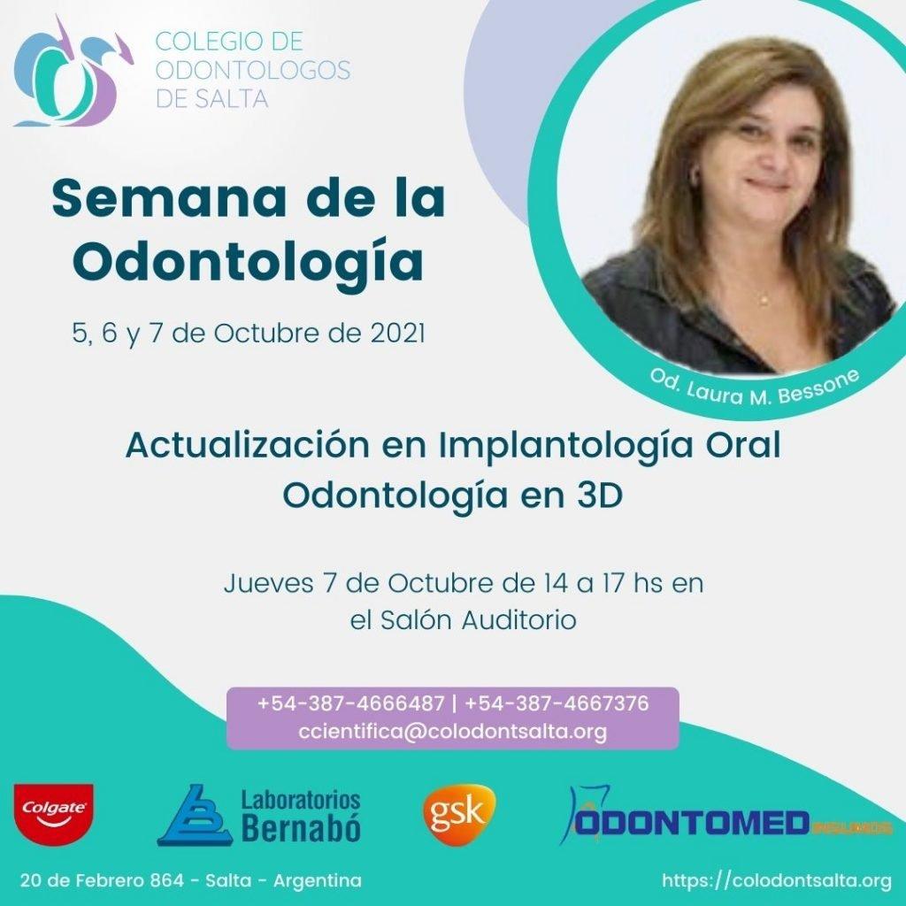Actualización en implantología Oral. Odontología en 3D.
