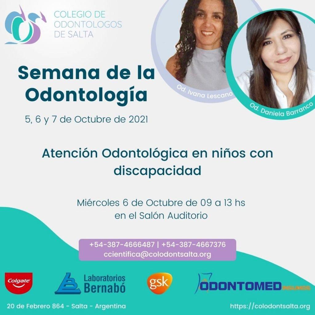 Atención odontológica en niños con discapacidad